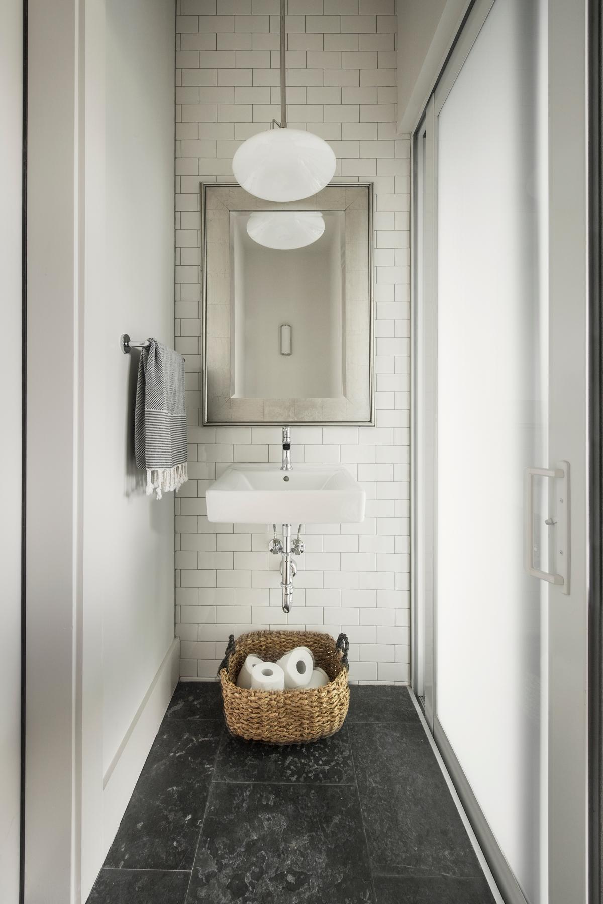 Urban Farmhouse bathroom by Brianna Michelle Design