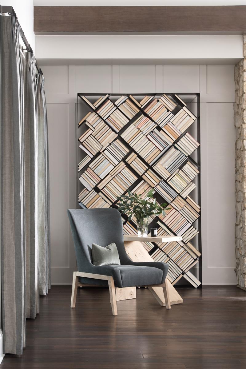 Eagle Preserve bookshelf by Brianna Michelle Design