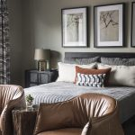 Greatwater Retreat bedroom by Brianna Michelle Design