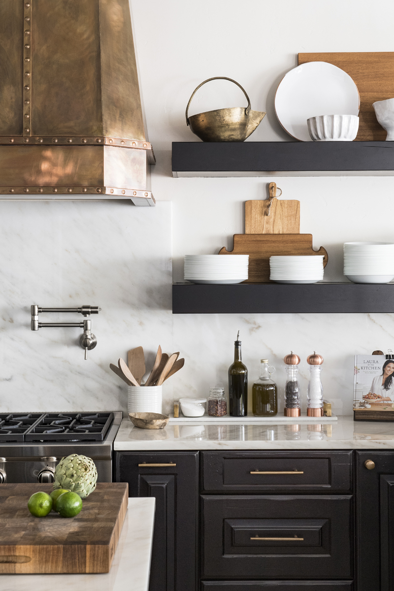 Greatwater Retreat kitchen by Brianna Michelle Design