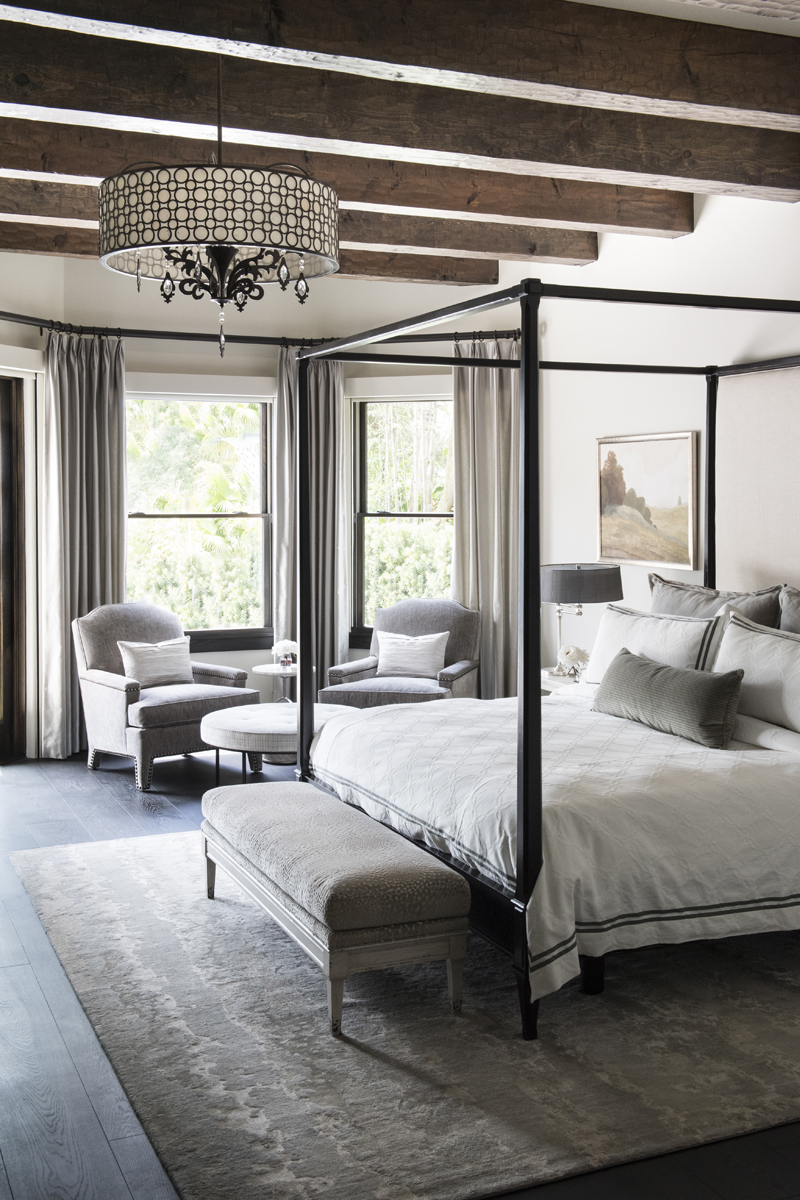 Greatwater Retreat master bedroom by Brianna Michelle Design