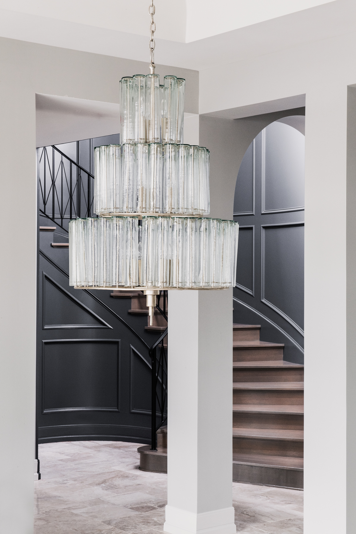 Chateau Pendio chandelier by Brianna Michelle Design