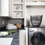 Chateau Pendio laundry room by Brianna Michelle Design
