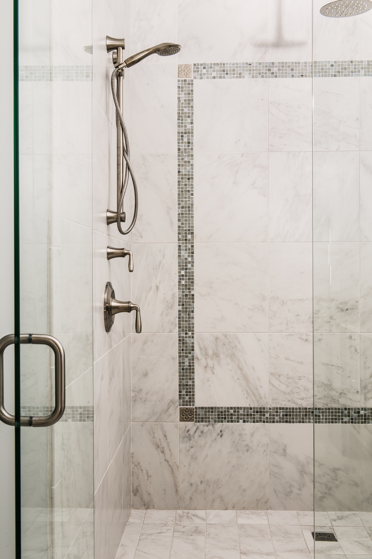 Chateau Pendio shower by Brianna Michelle Design