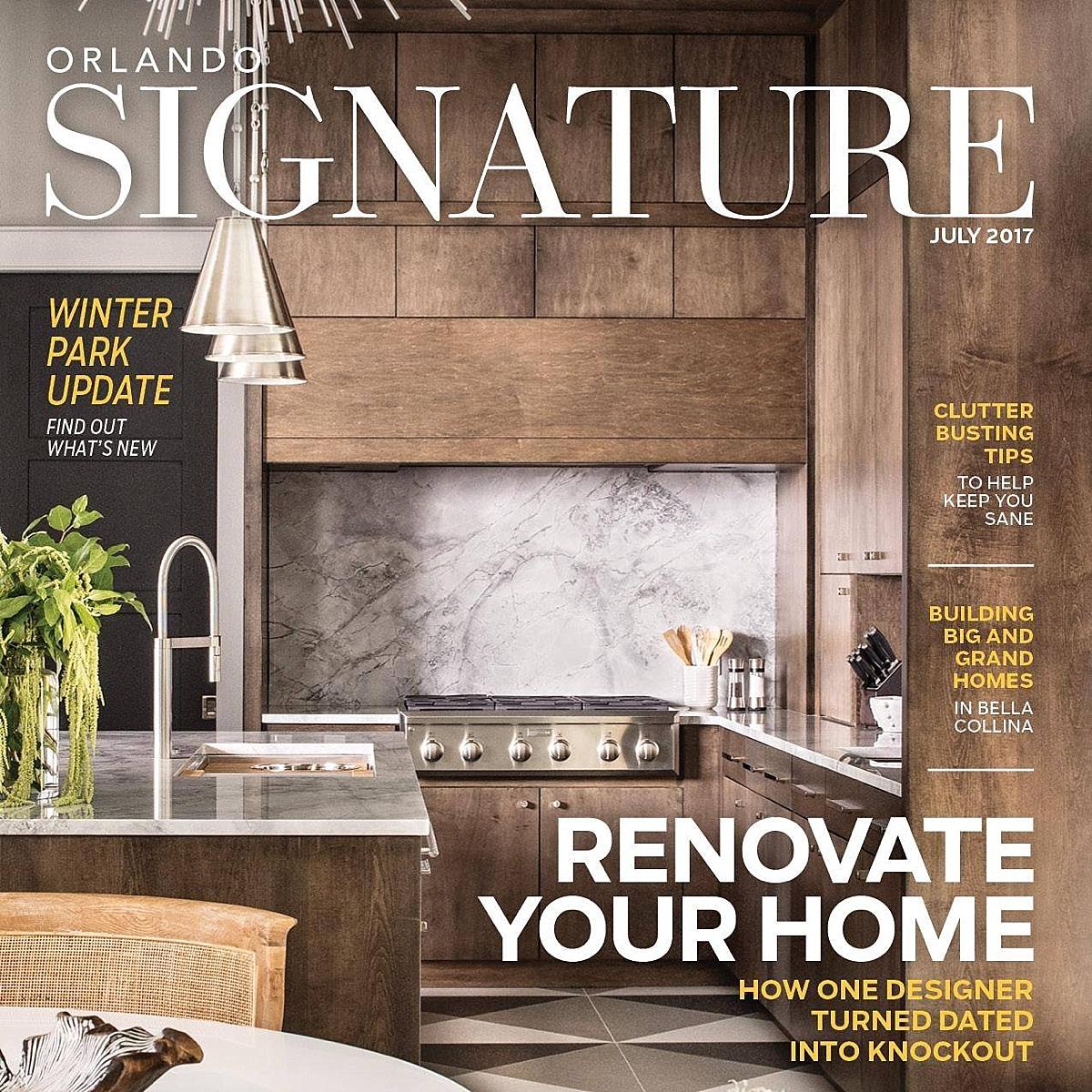 Orlando Signature Home Renovation Reinvented Brianna Michelle Design