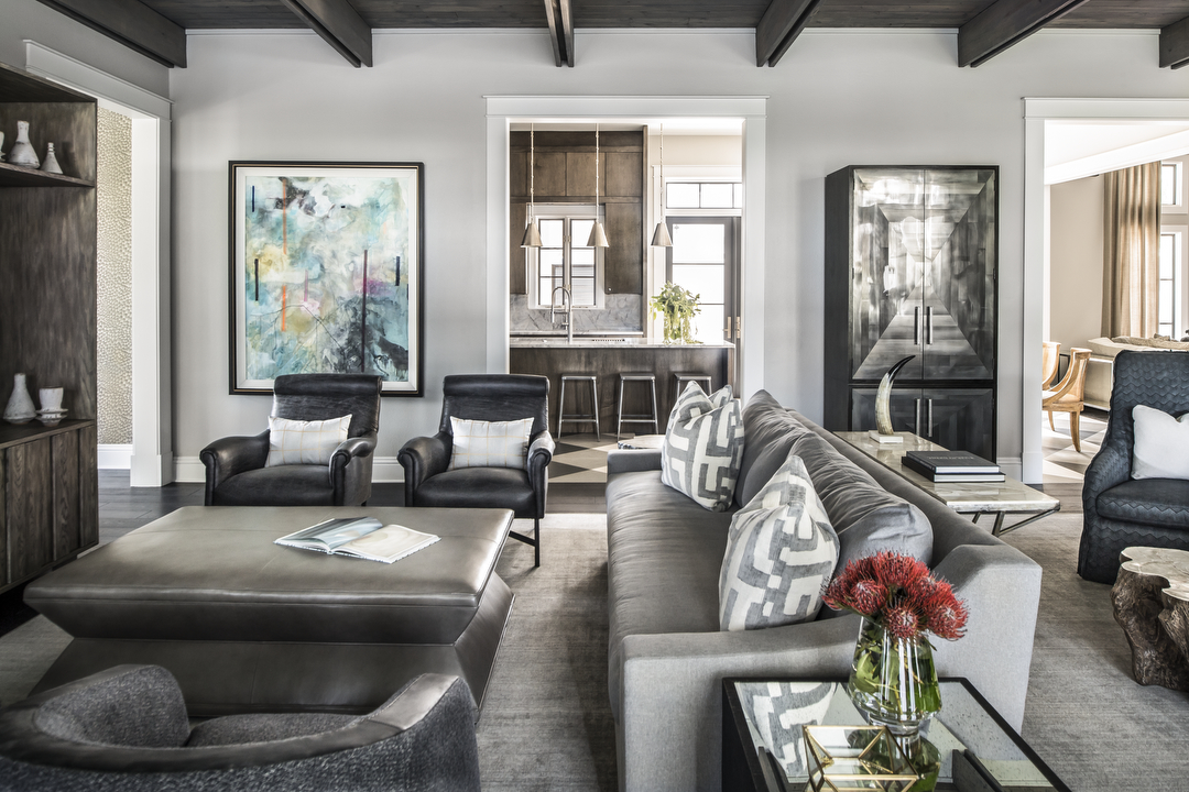 Lake Sybelia great room by Brianna Michelle Design