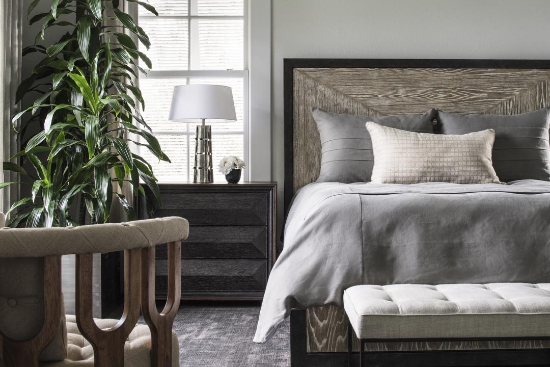 Lake Sybelia master bedroom by Brianna Michelle Design