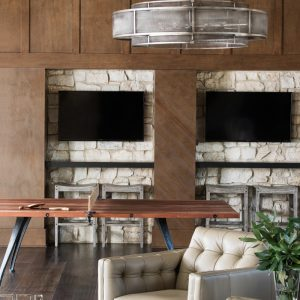Eagle Preserve game room by Brianna Michelle Design