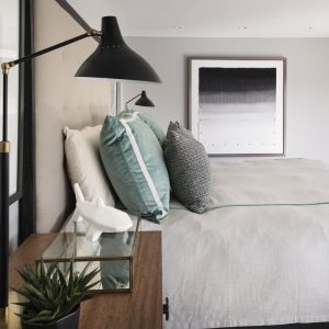 Grand Canal master bedroom by Brianna Michelle Design