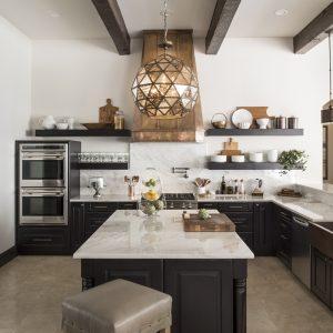 Greatwater Retreat kitchen by Brianna Michelle Design