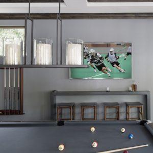 Greatwater Retreat billiard table by Brianna Michelle Design