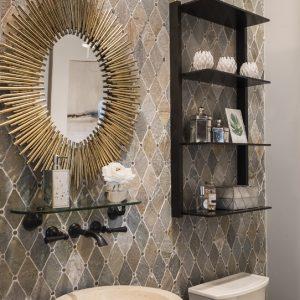 Greatwater Retreat bathroom by Brianna Michelle Design