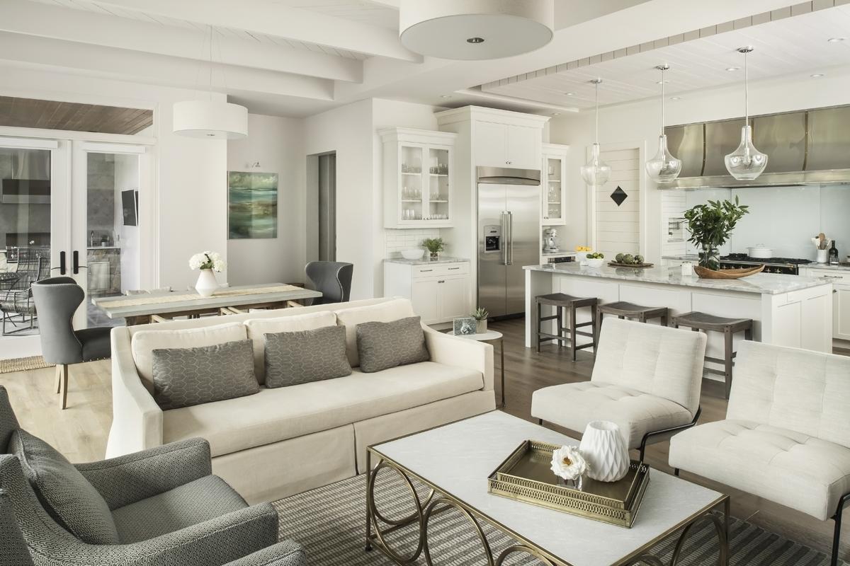 Urban Farmhouse living room by Brianna Michelle Design