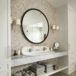 Urban Farmhouse master bathroom by Brianna Michelle Design