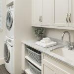 Urban Farmhouse laundry room by Brianna Michelle Design