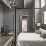 Urban Farmhouse master bedroom by Brianna Michelle Design