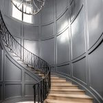 Chateau Pendio stairwell by Brianna Michelle Design