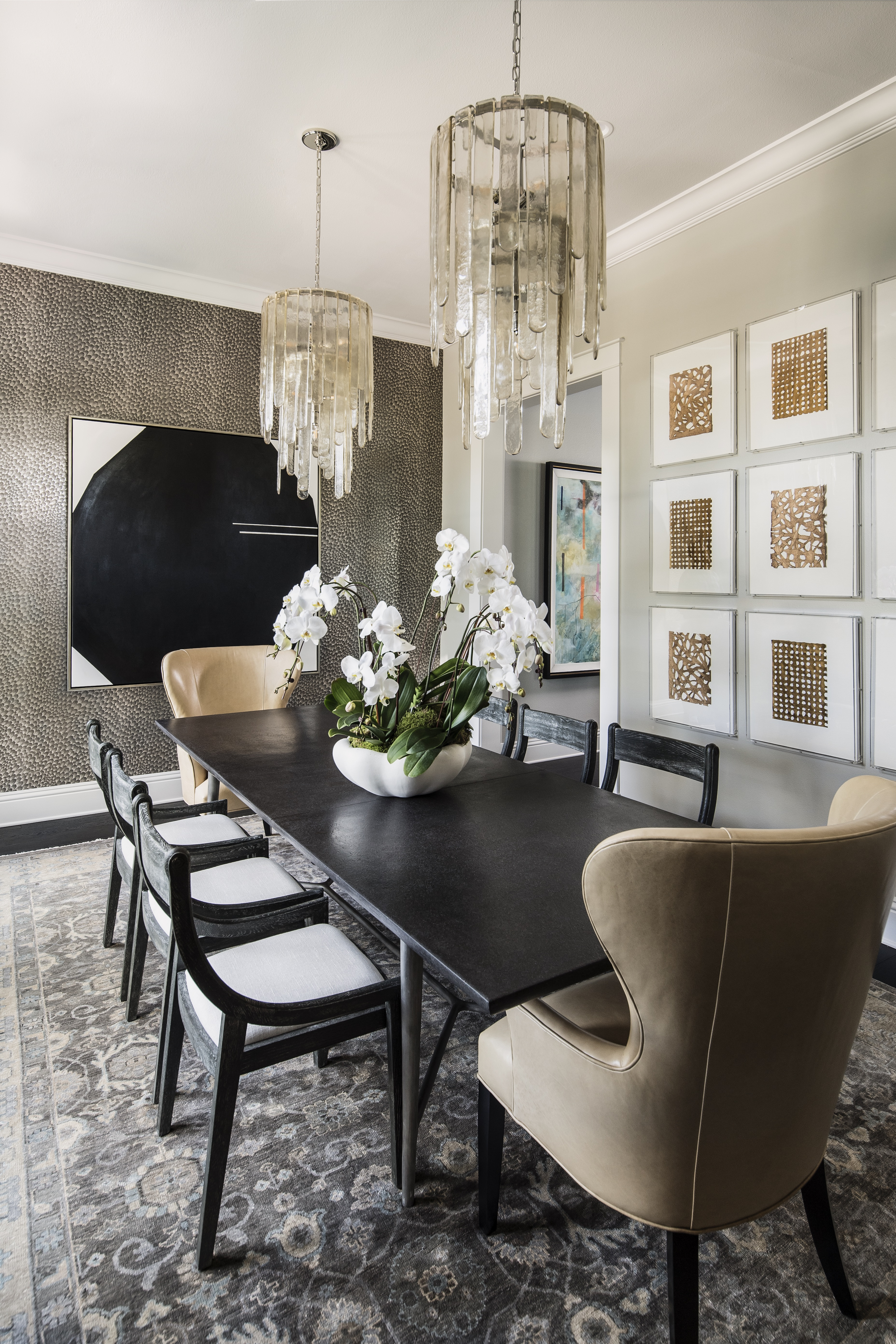 Lake Sybelia dining room by Brianna Michelle Design