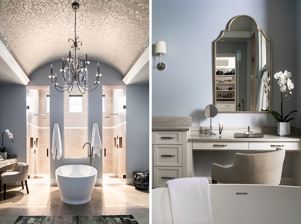 Hart Branch master bathroom by Brianna Michelle Design