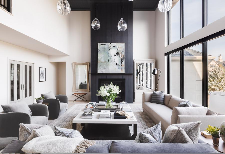 #NorthernFrostreno | Great Room Transformation