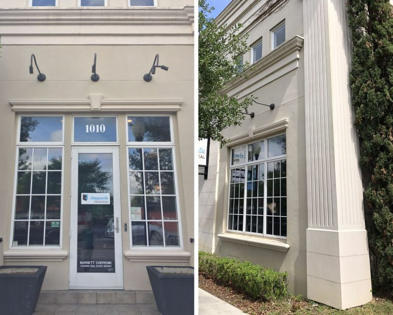 before, exterior of 1010 on Orange in Winter Park, FL