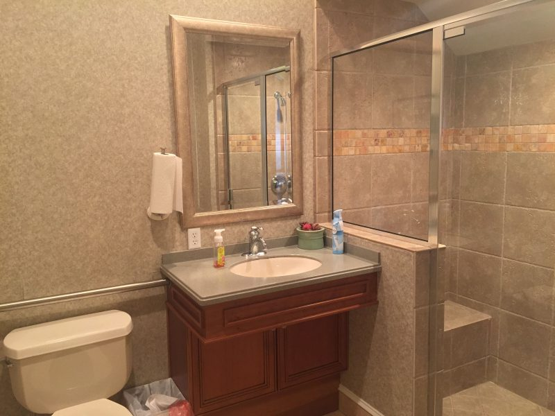 bathroom before remodeling