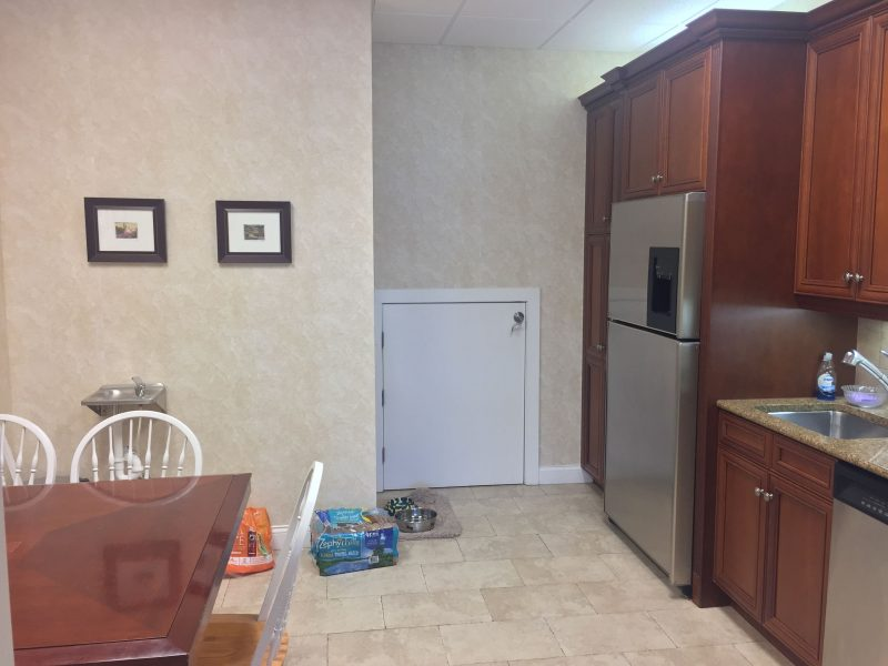 before remodeling of kitchen