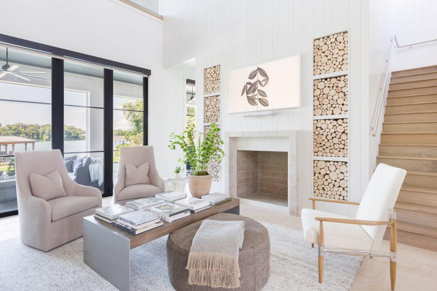 The Family Room | #modernlakeside
