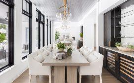 Dining Room | #glamfarm
